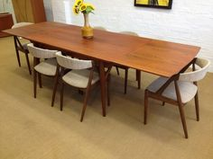 Scapinelli Inspired Dining Table  Tables  Pinterest  Mid Fair Mid Century Dining Room Chairs Inspiration Design