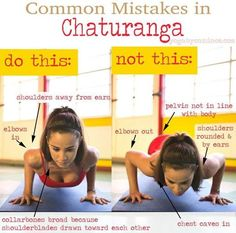 DownDog Diary: Yoga Keeps You Young: Common Mistakes in Chaturanga. From the Downdog Diary Yoga Blog found exclusively at DownDog Boutique
