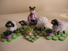 this is 'ewe'ver so precious. Work done by Ruvini De Silva