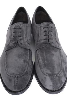 02609b495d3 Mens-BRIONI-Gray-Suede-Derby-Split-Toe-Oxford-Shoes-UK-8-1-2-US-9-1-2-D-995