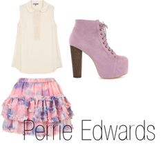 Perrie Edwards and Jeffrey Campbell