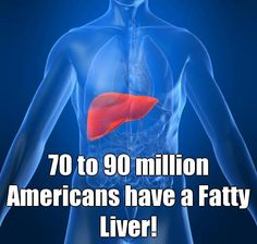 70 to 90 million Americans have a Fatty Liver!