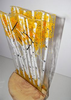 Hey, I found this really awesome Etsy listing at http://www.etsy.com/listing/126016367/aspen-fused-glass-dimensional-sculpture