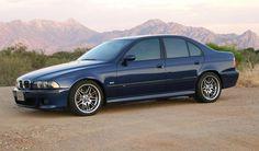 BMW E39 M5 1999 saloon blue