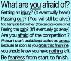 This soccer quote tells youdont be afraid of anythig go out there and play you game!!!