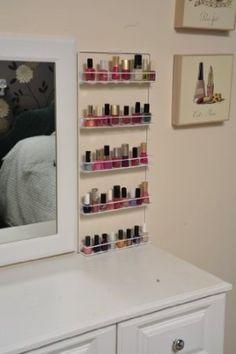 £21.50 Avonstar classic range nail varnish rack (cosmetic white): Amazon.co.uk: Kitchen & Home