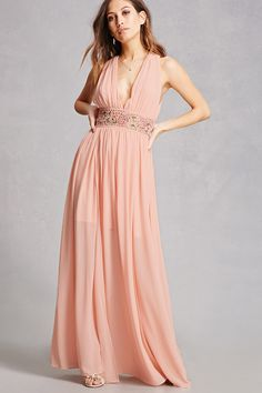 Soieblu Crepe Maxi Dress