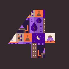 4 @36daysoftype #36daysoftype #thedesigntip #thedailytype #designspiration #type #typetopia #typespire #picame #pirategraphic #friendsoftype #supernovadesign #adobe #vector #illustration #illustree
