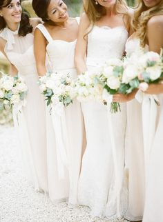 These Brides Are OK With You Wearing White At Their Wedding