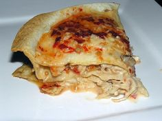 Makkelijke kip-tortilla ovenschotel
