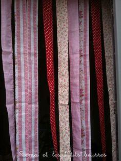 un rideau de porte contre les mouches couture pour les grands petite couture pinterest. Black Bedroom Furniture Sets. Home Design Ideas