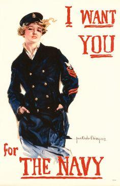 Navy Recruiting Poster