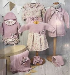 Clothing Store Design, Baby Girl Sweaters, Baby Dress Patterns, Crochet Baby Clothes, Kids Store, Diy Clothes, Baby Knitting, Kids Outfits, Kids Fashion