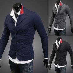 新しい秋2013スタンドカラーブレザーメンズファッション、 メンズスーツトップス、 ポロカジュアルを遊ばすドレススーツ男性用、 メンズコート、 r1120