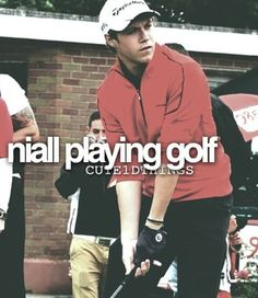 I play golf so I want to play golf with him even though is sink at it.