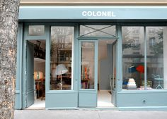 Colonel, a lovely design shop run by designers for design lovers in Paris.