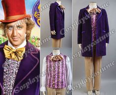 Willy Wonka and the Chocolate Factory 1971 by Cosplaycostume, $159.99