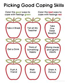 Coping Skills Worksheets For Anger Management Lessons Coping Skills Worksheets For Anger Management Lessons,Love and Care for Children and Teens counseling social work emotional learning skills character Coping Skills Worksheets, Social Skills Activities, Therapy Worksheets, Teaching Social Skills, Counseling Activities, Social Emotional Learning, Therapy Activities, Therapy Ideas, Play Therapy