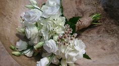 Stunning white wedding bouquet.  #wedding #orangevillewedding #orangevilleflorist #whitewedding Orangeville Ontario