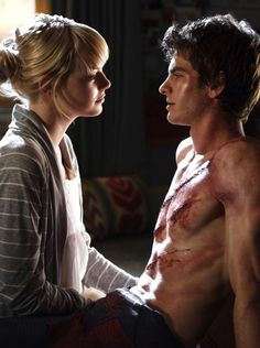 Peter Parker and Gwen Stacy.