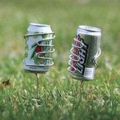 Handy Beer / Pop Can Holder for Camping