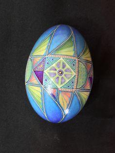 multi color fish design - goose egg — mark e malachowski
