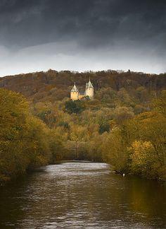 Castell Coch, Wales, UK  by Neil Mansfield, via Flickr