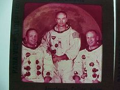 Apollo 11  Panavue Slide of  Lunar Crew Armstrong etc by MAYSVTG, $9.95