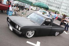 Simple and Cool Datsun Pick Up