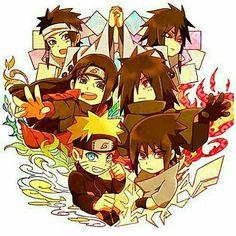 Indra, Asura, Otsutsuki brothers, Hashirama, Madara, Naruto, Uchiha, Senju clan, Uchiha clan, rivals, cool, cute; Naruto