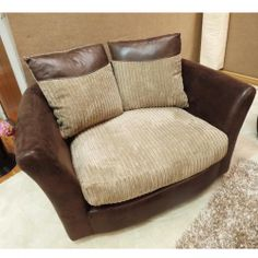 chairs for cuddling | ... Fabric Chaise Corner Sofa - With Optional Matching Swivel : cuddle chaise - Sectionals, Sofas & Couches