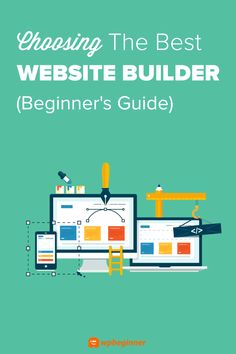 Are you looking for the best website builder to start your new website? Check out how to choose the best website builder by going over the pros and cons of the most popular options. Design Your Own Website, Build Your Own Website, Simple Website, Free Website, Website Ideas, Website Design Inspiration, Web Design Jobs, Ui Design, Layout