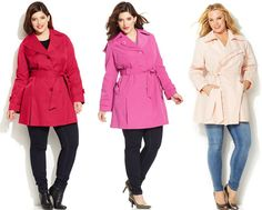 Shapely Chic Sheri - Currently Craving: Plus Size Coats for Spring