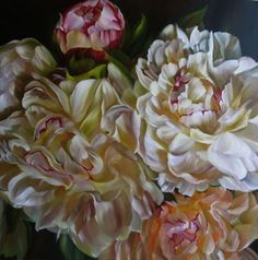 "Saatchi Online Artist Marcella Kaspar; Painting, ""golddust_106x106cm_oil on linen_2008_SOLD"" #art"