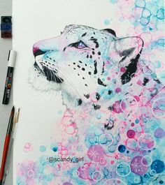 "10.4 ezer kedvelés, 114 hozzászólás – Jonna Lamminaho (@scandy_girl) Instagram-hozzászólása: ""SOLD. My first snow Leopard  snow Leopard turned out okay but the bubble thing looks really messy…"""