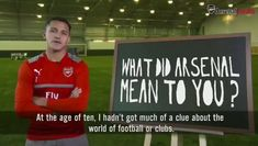 VIDEO: Archive Footage Shows Alexis Sanchez May Not Have Dreamed of Playing for Manchester United