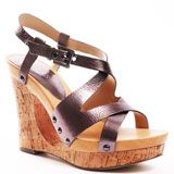 Eille Wedge - Pewter Leather, Guess, $84.99, FREE 2nd Day Shipping!