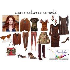 warm autumn romantic