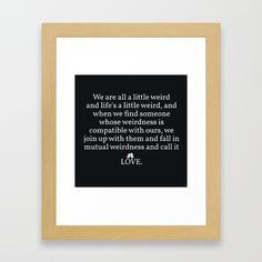 Buy #006 - OWLY quote Framed Art Print by owlychic. Worldwide shipping available at Society6.com. Just one of millions of high quality products available. #frame #building #canvas #canvasprint #walldecor #prints #artwork #print #canvas #poster #print #wallappers #background #owlychic #tapestry #hanger