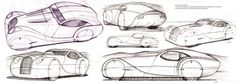 Morgan Lifecar Concept, design, sketch