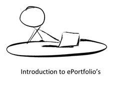 Introduction to ePortfolio's by Tom Buckley via slideshare