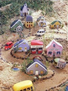 Painted Rock Town