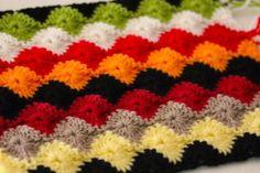 Crochet pattern blanket 12