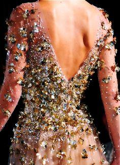 Elie Saab sparkling details