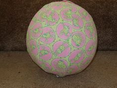 Balloon Ball with Drawstring PouchFrolicking Frogs by KerrysCrafts, $5.50