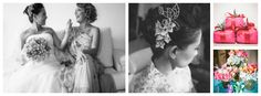 Origami Wedding in Brazil by Photographer Agata Gravante The Bride's mother made the origami bouquet, hair piece, decorations & favors (in the box was a Brigadier- a famous Brazilian chocolate cake) http://www.whitesatinweddingshow.com/agata-gravante-photography.html