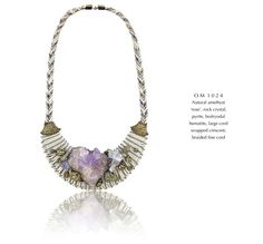 Just discovered Alex and Lee jewelry. Bringing 'new age' jewels to new heights.