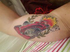 F1 tattoo