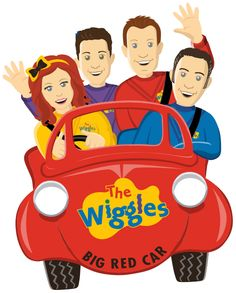 You make your kid's T shirt with an iron - Iron On Transfer - Big Red Car Wiggles Cake, Wiggles Party, Wiggles Birthday, Girl 2nd Birthday, The Wiggles, 2nd Birthday Parties, Birthday Ideas, Birthday Cake, Wiggles Concert