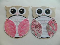 Clients finished result of ZCP's Modern Owl template! Super cute!!!